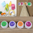 Self-Adhesive Back Pad Rubber Cloth Tea Towel Holder Push In For Kitchen Bath