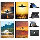Planes Aeroplanes  Airplanes Folio Cover Leather Case For Apple iPad Tablet