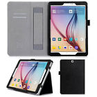 PU Leather Wallet Card Flip Stand Case Handheld Cover For Samsung Galaxy Tab S2