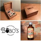 BOBOS BEARD COMPANY MENS GIFT SET BEARD OIL MOUSTACHE WAX,COMB MALE GROOMING KIT