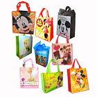 DISNEY MICKEY MINNIE TINKER PRINCESS NON WOVEN SHOPPING TOTE BAG PARTY GIFT BAGS