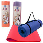"15mm Extra Thick 72""x24""x0.6"" Non-slip Fitness & Exercise Pilates Yoga Mat Pad"