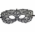 Lady Black Lace Hollow Out Fancy Masquerade Xmas Party Ball Half Face Eye Mask