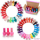 24 Candy Nail Polish Varnish for Artificial Nails Different Colours Luxury Box