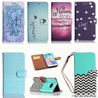 Magnetic Leather Wallet Case Flip Stand Cover for Samsung Galaxy S6 edge+ Plus