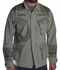 Ralph Lauren Denim & Supply Men's Military Button Up Shirt Jacket Choose Size