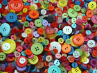 100grams MIXED BUTTONS,ROUND PATTERN FLORAL ASSORTED  TOY CRAFTS BUY 5 GT 2 FREE