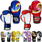 Junior Boxing Gloves Rex Leather Sparring Gloves Children / Kids 4,6,8 OZ