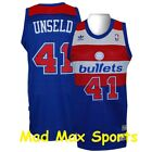 WES UNSELD Washington BULLETS Wizards NBA HWC Throwback SWINGMAN Jersey Size M-L