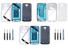 For Samsung Galaxy S4 GT-I9500 I9505 Front Lens Glass + Full Housing Cover Case