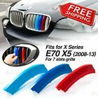 M-Tech Kidney Grill Grille 3 Colour Cover Clips for BMW X5 E70 Year 2008-2013