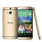 New HTC One M8 (Android Model) 16GB (Factory Unlocked) Phone GREAT Gold Silver A