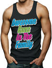 Awesome Runs In The Family - Funny Men's Tank Top T-shirt