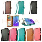 Luxury Leather Case Wallet Strap Cover for Samsung Galaxy Note 5 / S6 Edge+ Plus