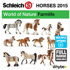 NEW! SCHLEICH 2015 RANGE OF HORSES PONIES FIGURES FARMYARD TOYS & HORSE FIGURINE