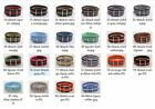 22mm Nylon Wrist Watch Band Strap Watch Stainless Steel Buckle 22color available