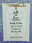 """Autumn Wedding Rustic Save The Date Card """"Fall in Love"""" Wedding Invitation,"""