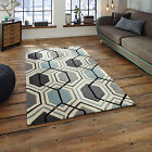 SMALL MEDIUM LARGE GREY BLUE 1-2CM THICK HONG KONG ACRYLIC BEST QUALITY RUGS MAT