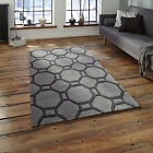 MEDIUM MODERN LARGE GREY 1-2CM THICK HONGKONG ACRYLIC BEST QUALITY RUGS FOR SALE