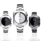 Luxury Men Women Girl Unisex Stainless Steel Quartz Sport Analog Wrist Watch New