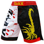 MMA Fight Shorts Grappling Muay Thai Boxing Cage Fight Shorts Scorpion Tattoo