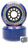 Longboard Rollers Kryptonics Classic 3in / 80A ABEC Bearing Set Replacement BLUE