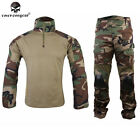 EMERSON Gen2 Combat Uniform Tactical Cype Style Airsoft Duty BDU Woodland Camo