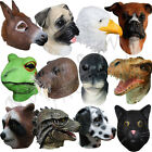 Latex Fancy Animal Head Party Dress Up Cosplay Masquerdae Carnival Costume Masks