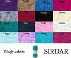 SIRDAR TOUCH FUR WOOL/YARN - 100G BALLS - 14 COLOURS - FREE SNOOD PATTERN