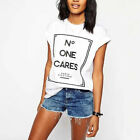 New Fashion Womens Summer Tops Loose Tee Short Sleeve T shirt Casual Blouse