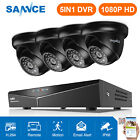 SANNCE 1500TVL 8 Channel HD 1080N TVI DVR Outdoor IR Home Security Camera System