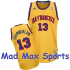 WILT CHAMBERLAIN San Francisco WARRIORS Gold HWC Throwback SWINGMAN Jersey S-XXL