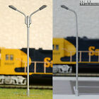 12 x OO gauge Model Railway train Lamp posts Led street lights Lamps YD100