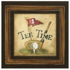 Poster Print Wall Art entitled Golf Tee Time