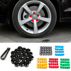 321601173A 20pcs Wheel Lug Nut Center Cover Caps + Removal Tool for VW Golf Audi