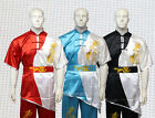 Embroidered dragon Kung fu Wu shu Martial arts Performance Competition Uniforms