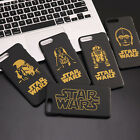Gold Design Classic Star Wars Character Hard Case For iPhone 5S 6S Plus 7 8 Plus $3.87 CAD on eBay