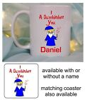 I ADORE YOU DUMBLEDORE MUG/COASTER VALENTINE DAY BIRTHDAY CHRISTMAS HARRY POTTER