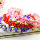 Kids Flower Hairband Baby Wreath Party Wedding Floral Girls Hair Accessories Hot