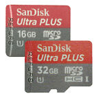 16GB/32GB Sandisk Micro SDHC Ultra C10 SD Memory Card Class10 SDSDQUA Genuine
