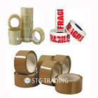 SUPREME BRAND STRONG CLEAR BROWN FRAGILE PARCEL PACKAGING TAPE