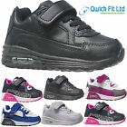 BOYS RUNNING TRAINERS INFANTS KIDS SHOCK ABSORBING GIRLS SCHOOL SPORTS SHOES SIZ