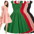 Womens Vintage Style 1940s Retro Retro Party Swing Bridesmaid Dress