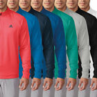 ADIDAS 3-STRIPES QUARTER ZIP PULLOVER GOLF SWEATER