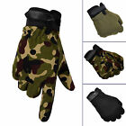 Fad Men Military Tactical Airsoft Shooting Hunting Full Finger Gloves 3 Size
