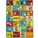 Large Classroom Rugs for Kids Alphabet  New Design 2016 3x5-5x8-8x11 cheap