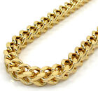 """20-40"""" Inch 5mm 10k Yellow Gold Box Franco XL Hollow Chain Necklace Mens"""