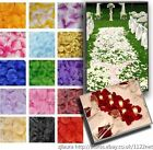 1000 QUALITY SILK ROSE PETALS WEDDING PARTY BANQUET TABLE CONFETTI DECORATIONS