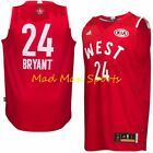 KOBE BRYANT Los Angeles Lakers 2016 West ALL STAR GAME Adidas SWINGMAN Jersey on eBay