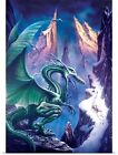 Poster Print Wall Art entitled Dragon of the North